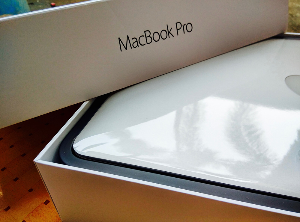 spider  macbook pro retina unboxing