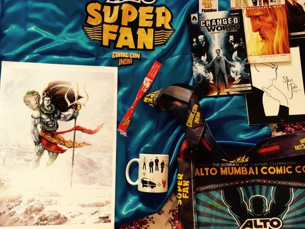 Comic con: Mumbai 2016 & Campfire Graphic Novels Review